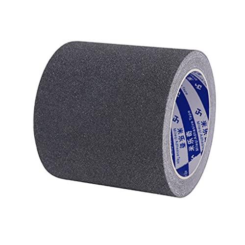 Cinta de seguridad gris / negra Cinta antideslizante para suelos Cinta para alfombras Cinta de agarre para patinetas para suelos de baldosas Cinta para suelos de gimnasia para el hogar y la cocina 1