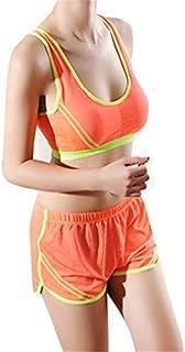 Women Quick Dry Sports Shorts Pants Gym Workout Loose Workout Yoga Shorts Hot : Orange, One Size