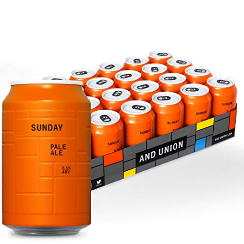 AND UNION Craft Beer - SUNDAY Pale Ale - 24 x 330ml Dosen - 6,00€ Pfand inkl. - 6
