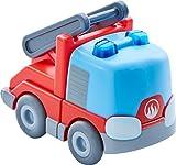 HABA 303844 - Kullerbü – Feuerwehr-Leiterwagen | Motorikspielzeug von 2-8 Jahren | Tolles Zubehör für alle Kullerbü-Bahnen -