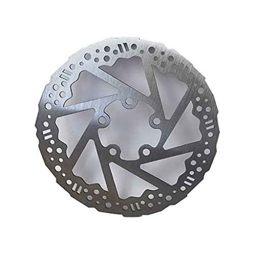 Cdoohiny Disco de freno compatible con M365 Pro Scooter eléctrico freno de disco de acero inoxidable, piezas de repuesto de gran rendimiento