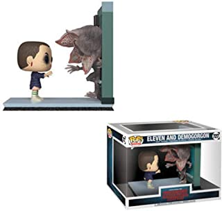 Funko 35033 Pop! Movie Moments: Stranger ThingsEleven & Demogorgon, Multicolor