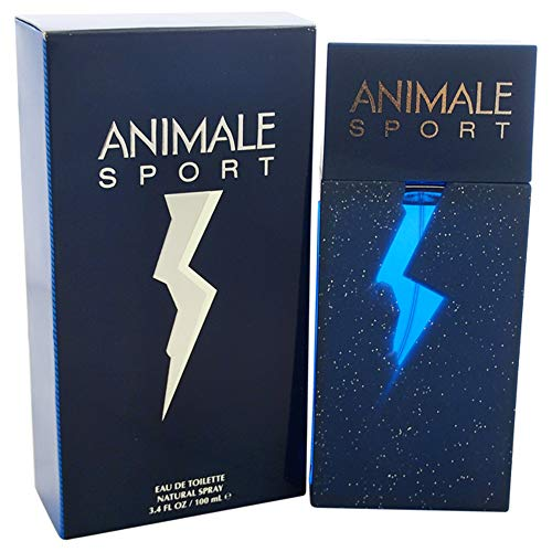 Animale Sport Eau de Toilette Spray for Men, 3.4 Ounce
