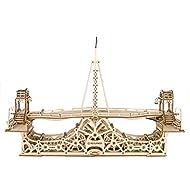 Wise Elk - Pedestrian Bridge Wooden Mechanical 3D Model Building Kit