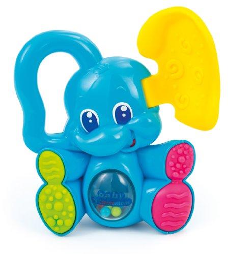 Clementoni 14146 Hochet – sonajeros (Bleu, Enfant/Fille, 3 Mois (ES), Lavage de Mains, 145 mm, 202 mm)