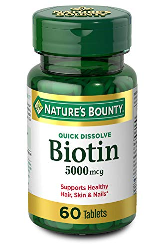 Nature's Bounty Biotin Supplement, Supports Healthy Hair, Skin and...