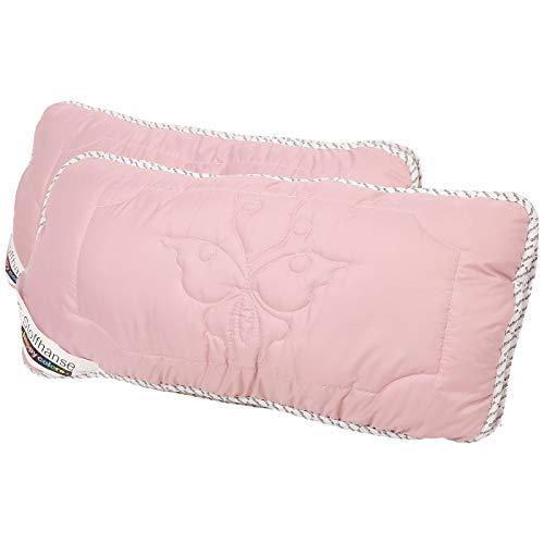 Stoffhanse Kissen 40 x 80 cm, 2er Set rosa | Bettwaren | Kopf-Kissen | nach Öko-Tex Standard
