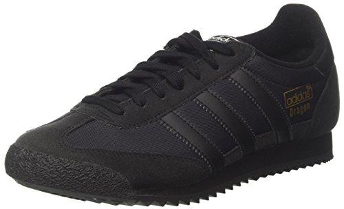 adidas Dragon Og, Zapatillas de deporte Hombre, Negro (Core Black/Core Black/Core Black), 36 1/2 EU
