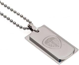 Double Dog Tag & Chain - Leeds United F.C