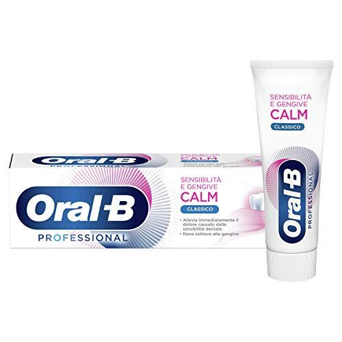 Oral-B Dentifricio Professional Sensibilità e Gengive Calm Classico 75 ml