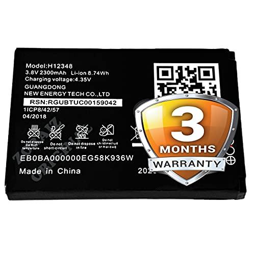 H12348 Battery Compatible with Reliance Jio WiFi 4G Router Jiofi2 m2 / jiofi 2 m2s - [2300mAh] with 90 Days Warranty
