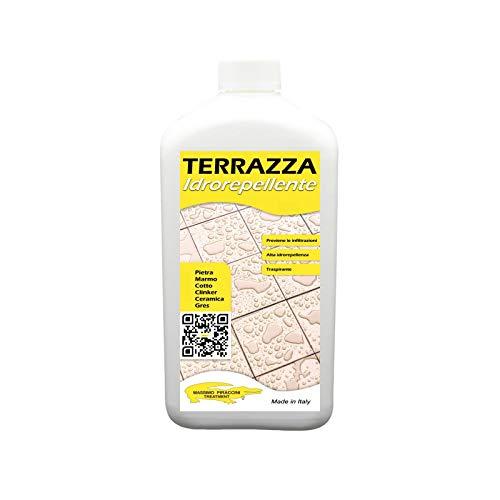 Terraza impermeable máxima piraccini tratamiento protector ecológico antifugas para terrazas y suelos, 1 litro