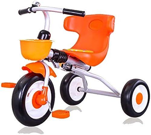 LHY RIDING Kinderfahrrad Kinder Dreirad Kinderwagen klapp Auto licht Kinder Fahrrad 2-5 Jahre alt Baby Dreirad Fahrrad (kostenlose InsGrößetion, offen und bereit)