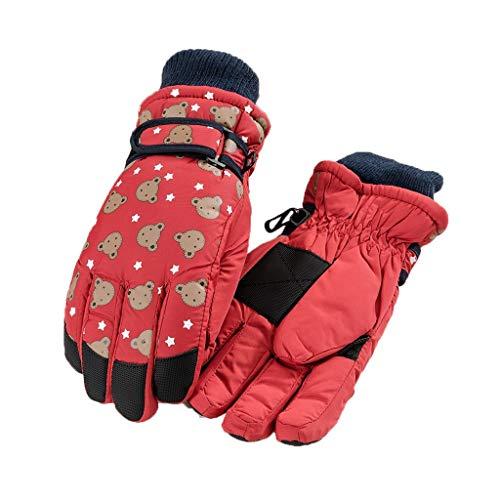 YQRJYB Jongen En Meisje Met Ski Handschoenen Warm Outdoor Winter Sneeuw Wanten Handschoenen Voor Skiën Snowboarden Sneeuwballen