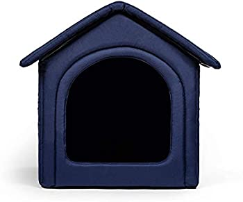 R Rexproduct Home Premium Niche à Chien Lavable Bleu Foncé Taille XXXXL 1 Unité