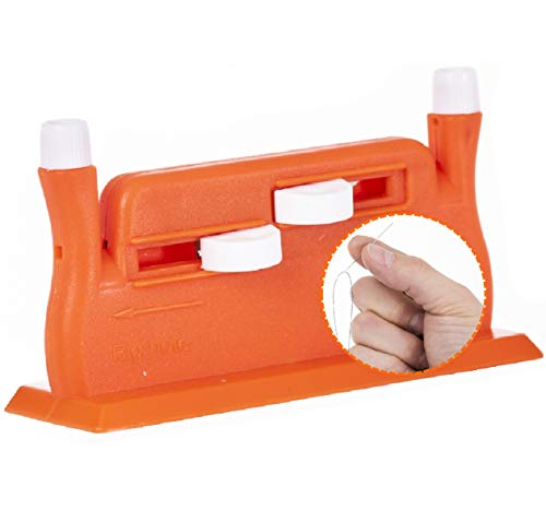 Annote Enhebrador de Agujas Automático - Enebradoras Hilo para Máquina de Coser - Agujas de Coser a Mano Incluidas - Enhebrador Automático Kit de Costura Profesional - Color Verde