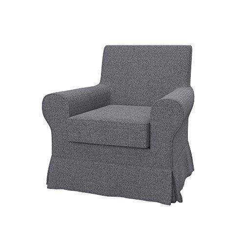 Soferia - IKEA EKTORP JENNYLUND Funda para sillón, Naturel Grey