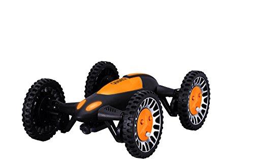 Qimmiq Transformer - Dron con cámara HD de 2 MP, Color Negro y Amarillo