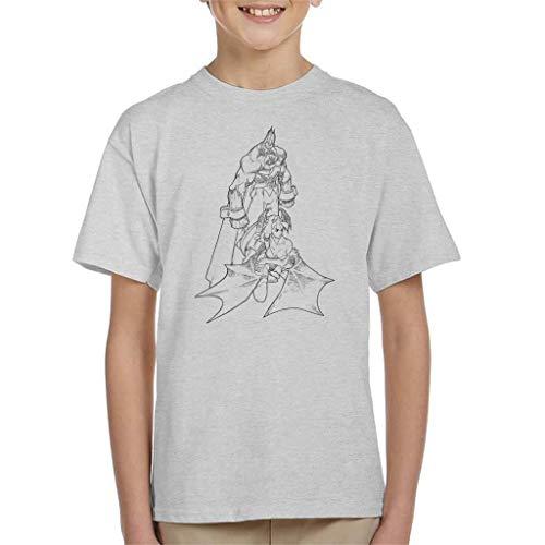 Cloud City 7 Demitri Maximoff and Morrigan Aensland Darkstalkers Kid's T-Shirt