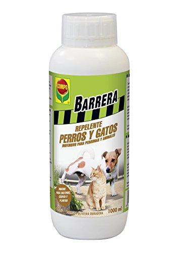 Compo Barrera Perros y Gatos, Agente Repelente para Proteger de la contaminación, 1000 ml