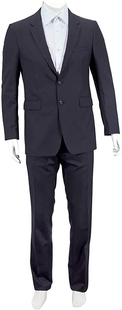 Burberry Navy Millbank Modern Fit Wool Suit, Brand Size 52R (US Size 42R)
