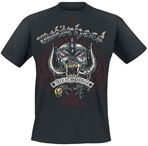 Motörhead Ace of Spades Tattoo Männer T-Shirt schwarz XXL 100% Baumwolle Undefiniert Band-Merch, Bands