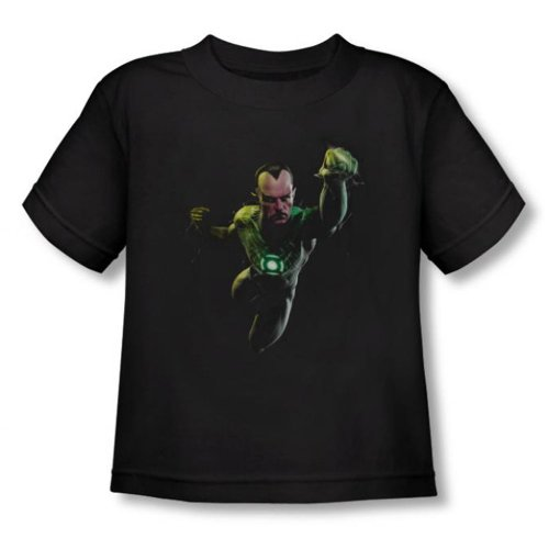 Green Lantern - - Toddler Sinestro (Vidéo) T-shirt In Black, 2T, Black