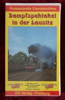 Dampfspektakel in der Lausitz, 1 Videocassette [VHS]