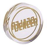 Backbayia Kristall Händlerchip Poker Dealer Spiel Unterhaltung Poker Tasten Zubehör für Roulette, Turniere -