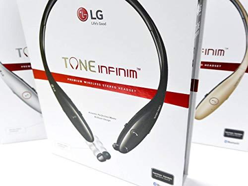 LG Tone HBS-900 Infinim Bluetooth Stereo Headset - Red Black