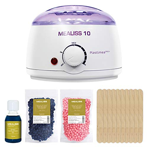 Complete Waxing Kit I at-Home Professional Hair Removal Set I Stripless & Painless I Includes Wax...