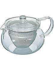 Hario CD Kyusu-Maru-450ml waterkoker voor thee Chacha Kyusu-Maru met een inhoud van 450ml, glas, transparant
