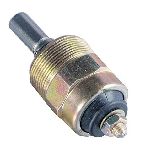 SINOCMP Electrovanne d'arrêt 12V pour pièces de moteur Disel Excavatrice 096030-0070