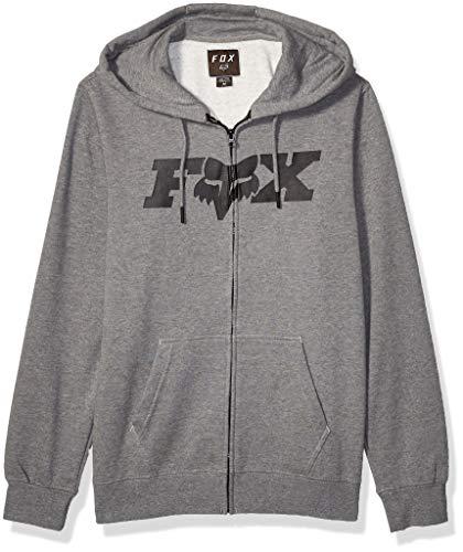 FOX Legacy F-Head-X Felpa con cappuccio zip Grigio