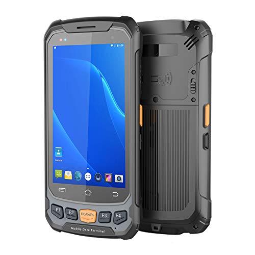Barcode Scanner Portable 2D Avec Android 7.0 OS, ISP 4.7In Écran Tactile, 3G 4G Wifi BT GPS Sans Fil Terminal Mobile, 2 Go De RAM + ROM De 16 Go, Supermarket Entrepôt