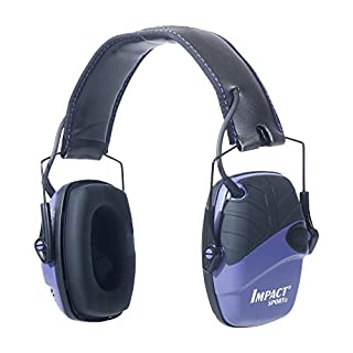 Howard Leight by Honeywell Impact Sport Sound Amplification Electronic Shooting Earmuff, Purple (R-02522), One Size, Adjustable (B00ZN51GIW)   Amazon price tracker / tracking, Amazon price history charts, Amazon price watches, Amazon price drop alerts