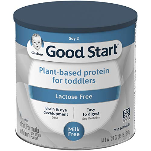 Gerber Good Start Soy Infant and Toddler Formula , 24 Ounces