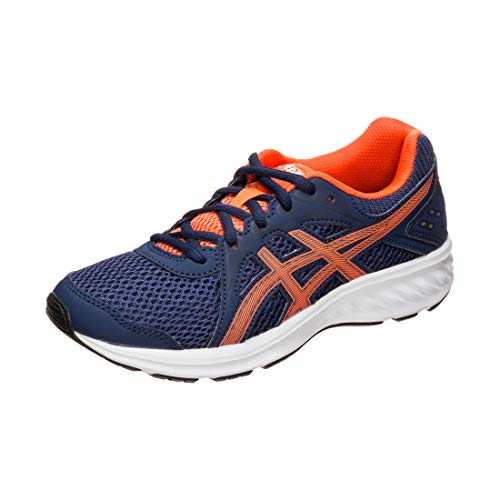 Asics Jolt 2 GS, Zapatillas de Running Unisex Niños, Azul (Indigo Blue/Nova Orange 404), 35.5 EU
