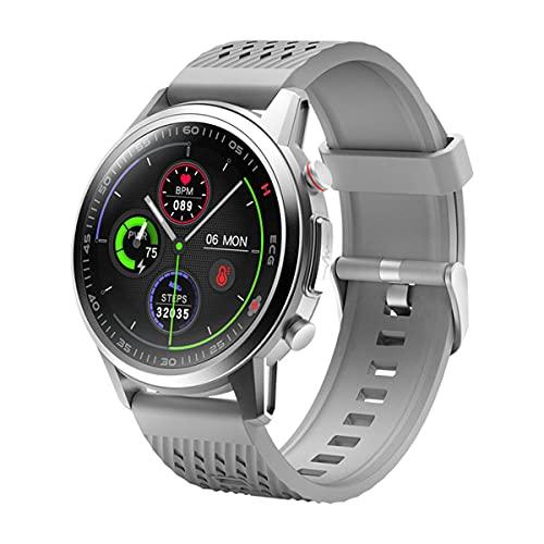 QNMM Reloj Inteligente F800 para Hombres, 1.3' con Monitor de Frecuencia Cardíaca Y Monitor de Sueño Relojes Deportivos Deportivos, IP67 a Prueba de Agua, para iOS 8.2, Android4.4 Y Superior