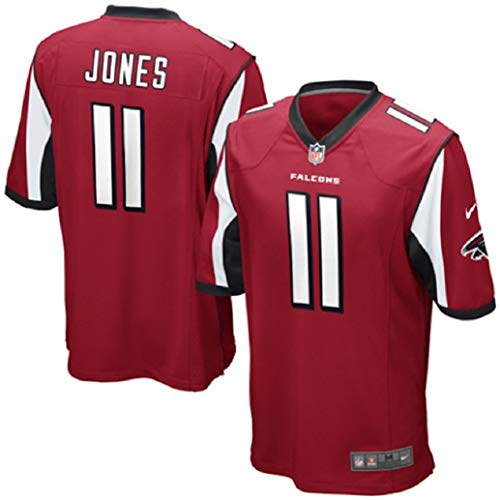 Nike NFL Youth Atlanta Falcons Julio Jones # 11 Game Jersey, Red (Small (8), Red)