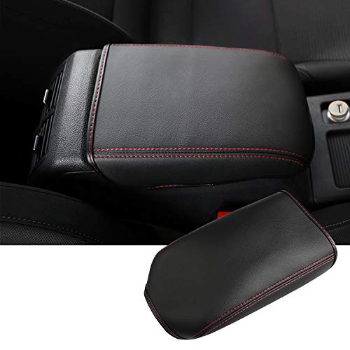 Auto Central Console Armrest Rest Pad Fit for 2013-2019 Volkswagen VW Golf 7 MK7 MK7.5 Seat Box Cover Protector Automotive Car Center Console Soft Cushion