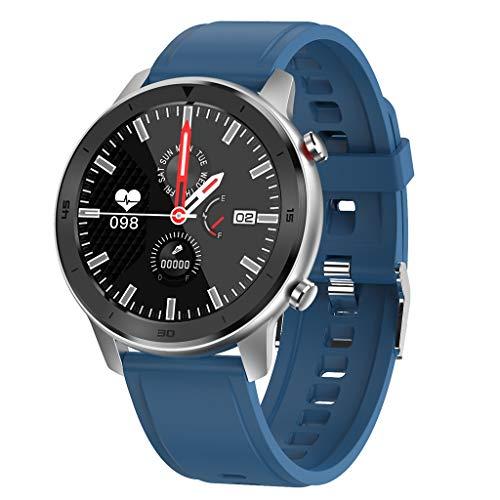 BNMY Smartwatch, Fitness Tracker Bluetooth Smartwatch IP68 wasserdichte Aktivitäts-Tracker Mit GPS-Sportaufzeichnung Schrittzähler Herzfrequenz Schlafmonitor,F