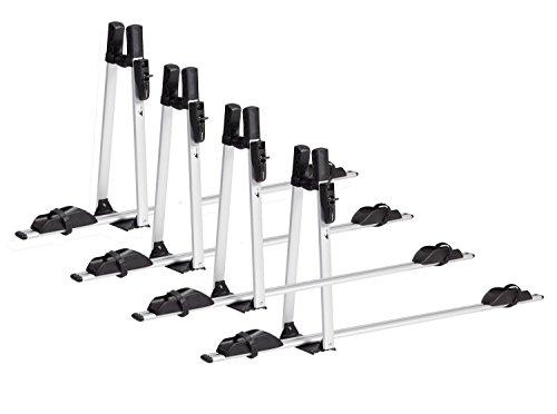 VDP Fahrradträger ALU Premium Dach Fahrradhalter Fahrrad Dachfahrradträger abschließbar (4X VDP Fahrradträger)