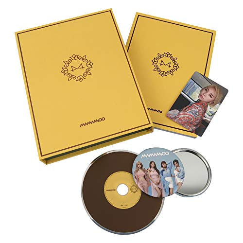 MAMAMOO 6th Mini Album - [ YELLOW FLOWER ] CD + Photobook + Photocard + FREE GIFT / K-POP Sealed