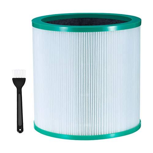 Housmile Ersatz-Luftreiniger filter für Dyson True HEPA-Filterturmreiniger Pure Cool Link TP00, TP01, TP02, TP03, BP01, AM11 Vergleiche mit Teilenummer 968126-03