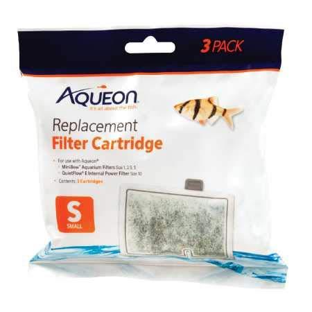 Aqueon Mini Bow Replacement Filter Cartridges Small (3 pk)