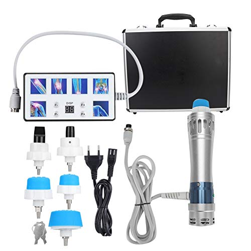 Dispositivo de terapia de ondas de choque, tratamiento de disfunción eréctil profesional alivio del dolor muscular masajeador dispositivo de terapia instrumento de fisioterapia de ondas de choque