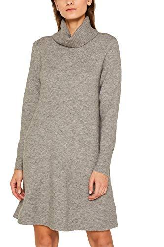 ESPRIT 109ee1e002 Vestito, Grigio (Medium Grey 5 039), Donna