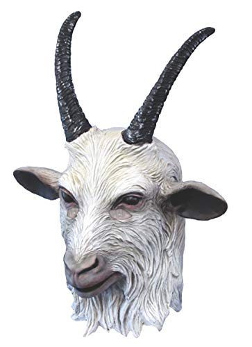 Rubie's Costume Co Suicide Squad Deluxe Overhead Goat Mask, Multi, One Size