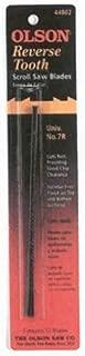 Olson Saw FR44000 Skip Tooth .022 x 0.10-Inch,28-TPI Scroll Saw Blade
